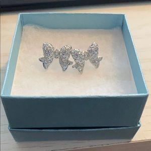 Touchstone Crystal Bow Earrings